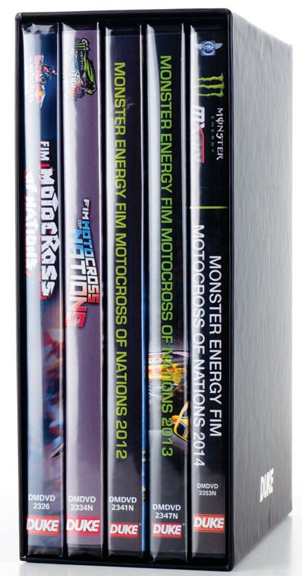 Motocross of Nations 2010-14 (5 DVD) NTSC Boxset