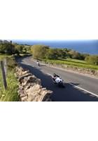 Bruce Anstey leads Ian Hutchinson TT 2016 Practice
