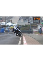 Michael Dunlop kicks up the gravel North West 200 2016