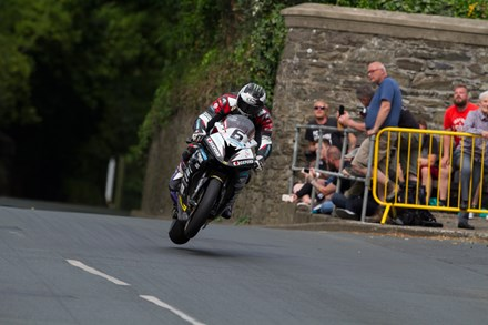 Michael Dunlop, Quarterbridge Road TT 2016 - click to enlarge
