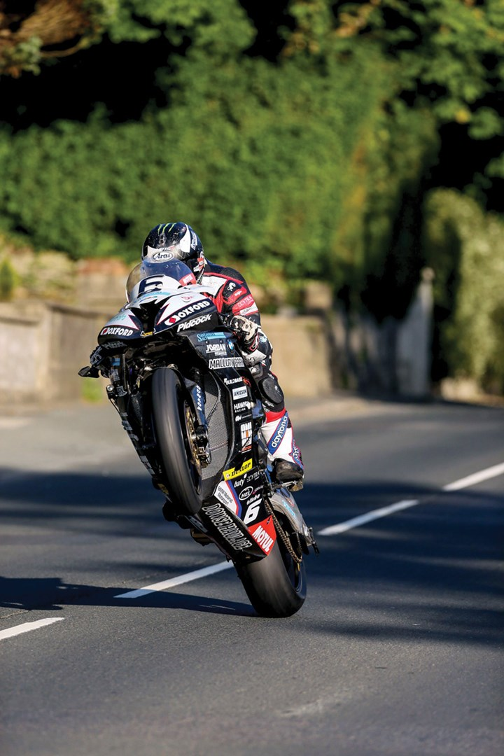 Michael Dunlop, Glen Vine, TT 2016 - click to enlarge