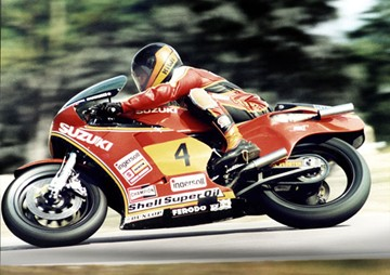 Graeme Crosby Donington 1981 - click to enlarge