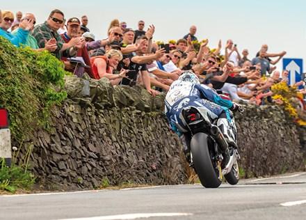 Michael Dunlop winning TT 2018 Superbike Race Print - click to enlarge