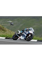 Michael Dunlop over the Mountain TT 2018 Print