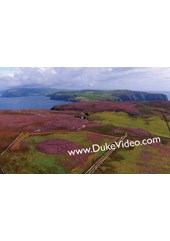 North from Calf of Man - Isle of Man From the Air - Print
