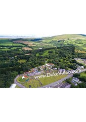 Tynwald Day - Isle of Man From the Air - Print
