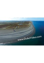 Point of Ayre Lighthouses - Isle of Man From The Air - Print