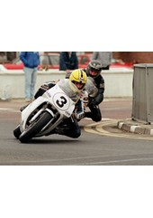 Joey Dunlop leads brother Robert NW 200 1991
