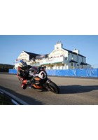 John McGuinness Creg Ny Baa Superbike Practice TT 2009