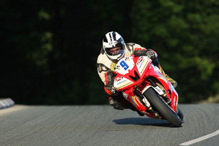 Michael Dunlop Greeba 2010 Tuesday Practice - click to enlarge