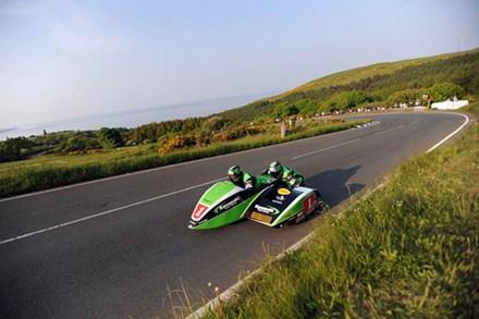 Dave Molyneux Gooseneck TT 2010 5th Practice