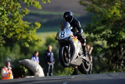 Guy Martin Superbike Ballaugh Bridge TT 2010 - click to enlarge
