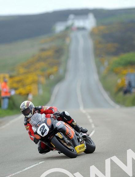 John McGuinness Creg ny Baa TT 2010 - click to enlarge