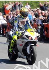 Rossi TT 2009 parade lap