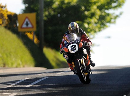 John McGuinness TT 2010 - click to enlarge