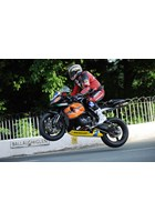 John McGuinness Ballaugh Bridge Supersport Practice