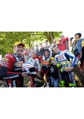 Rossi, McGuinness, Agostini & Plater TT2009