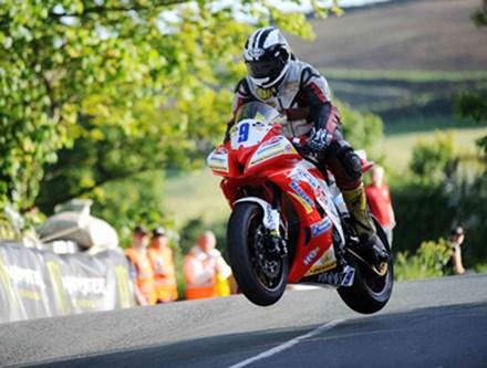 Michael Dunlop Ballaugh Bridge TT 2010