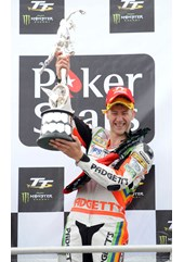 Ian Hutchinson TT 2010 Superbike Podium