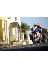 Ian Lougher Rhencullen TT 2009 Supersport Practice