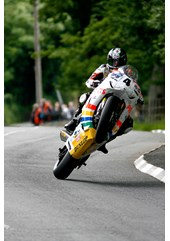 Ian Hutchinson Superbike  2010 Acrylic