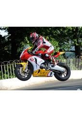 Gary Johnson Ballaugh Bridge Superbike Practice