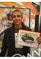 Rossi TT 2009 Stamps