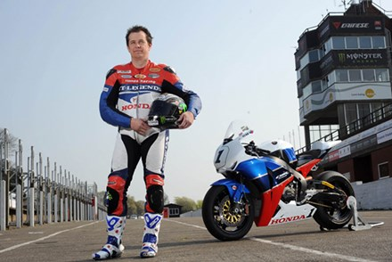 John McGuinness 2011 TT Press Launch - click to enlarge