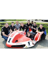 Klaffenbock Sayle Sidecar Team 2011 TT Press Launch