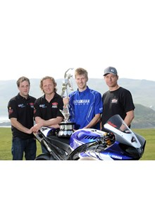 2010 TT Winners at 2011 Press Launch