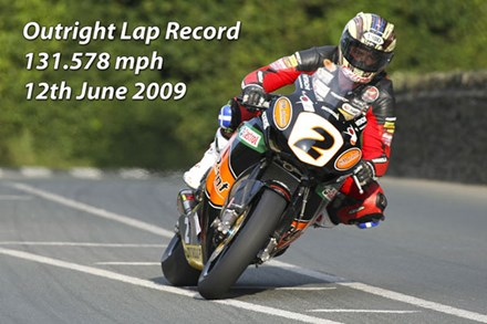 McGuinness Lap Record TT 2009 - click to enlarge