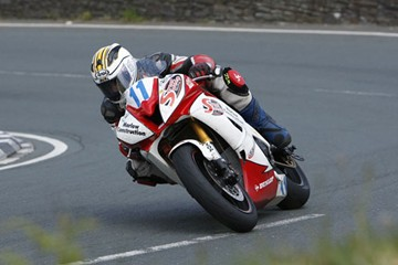Michael Dunlop Gooseneck TT 2009 Supersport Race - click to enlarge