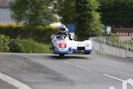 Klaus Klaffenbock/Dan Sayle TT 2011 Ballaugh - click to enlarge