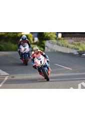 John McGuinness/Keith Amor TT 2011 Ballaugh