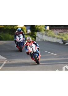John McGuinness/Keith Amor TT 2011 Ballaugh
