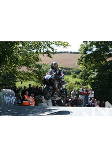 Guy Martin TT 2011 Supersport 1 Race Ballaugh Bridge