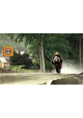 Joey Dunlop in the Rain TT 1998  Acrylic