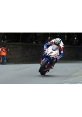 John McGuinness TT 2011 Superbike out of seat St Ninians