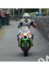 Michael Dunlop TT 2011 Superstock Winners Paddock