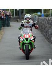 Michael Dunlop TT 2011 Superstock Winners Paddock