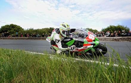 Michael Dunlop TT 2011 Superstock Gooseneck - click to enlarge