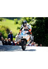 Bruce Anstey TT 2011 Supersport 1 Winner Ballaugh