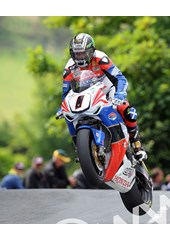 John McGuinness TT 2011 Superbike Ballaugh