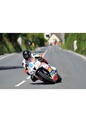 Bruce Anstey TT 2011 Supersport 1 Winner Signpost