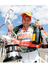 Bruce Anstey TT 2011 Supersport 1 Podium