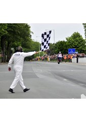 John McGuinness TT 2011 Superbike Chequered Flag