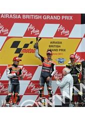 Casey Stoner Podium British MotoGP 2011 Silverstone