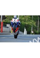 John McGuinness TT 2011 Superbike Agos Leap