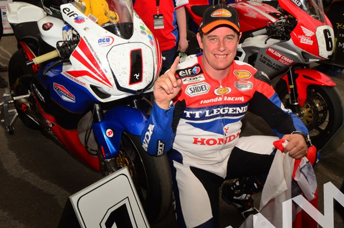 John McGuinness TT 2011 Superbike Indeed Number One - click to enlarge