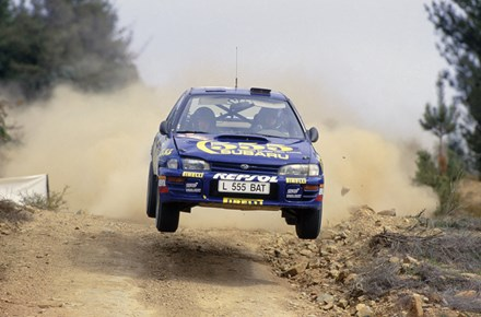 Colin McRae Subaru Rally Australia Acrylic - click to enlarge